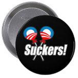 Anti-Obama Bumpersticker - Suckers Pins