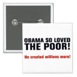 Anti Obama Button