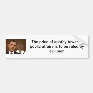 anti-obama pegatina de parachoque