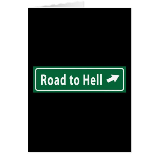 Anti-Obama: Camino al infierno pavimentado con el  Tarjeta