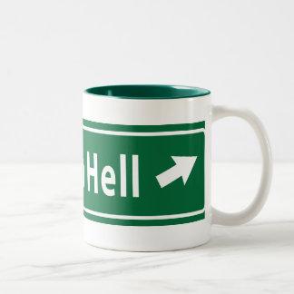 Anti-Obama: Camino al infierno pavimentado con el Taza De Café De Dos Colores