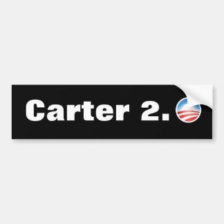 Anti Obama Carter 2.0 Election 2012 Bumper Sticker