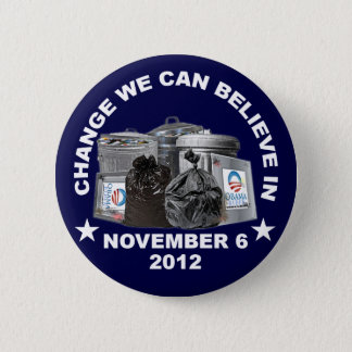 Anti Obama - Change We Can Believe In Button