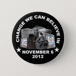 Anti Obama - Change We Can Believe In Pinback Button