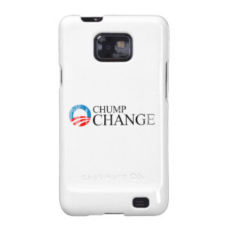 ANTI-OBAMA - CHUMP CHANGE BLACK- Faded.png Samsung Galaxy SII Cases