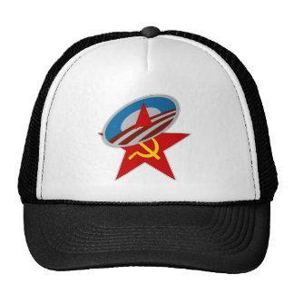 ANTI OBAMA COMMUNIST /SOCIALIST STAR SYMBOL HATS