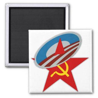 ANTI OBAMA COMMUNIST /SOCIALIST STAR SYMBOL MAGNET