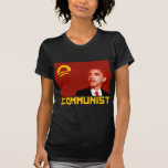 Anti-Obama: Comunista de Barack Obama Camiseta
