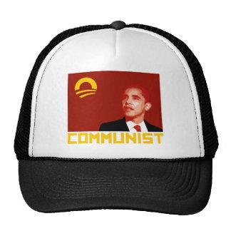 Anti-Obama: Comunista de Barack Obama Gorro