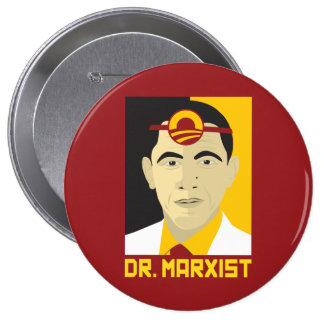 Anti-Obama: Doctor Marxist Button