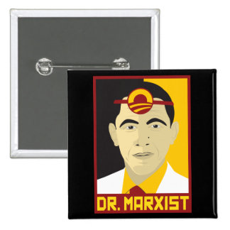 Anti-Obama: Doctor Marxist Pins