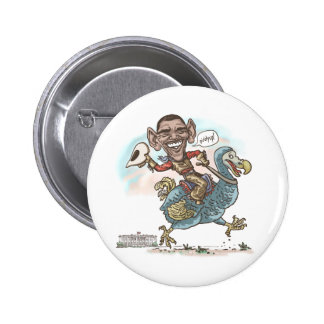 Anti-Obama Dodo Extinction 2012 2 Inch Round Button