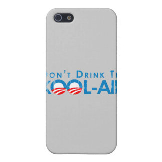 ANTI-OBAMA - DONT DRINK THE KOOL-AID- Faded.png iPhone 5 Covers