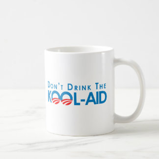 Anti-Obama - Dont drink the kool-aid Classic White Coffee Mug