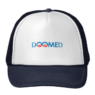 ANTI-OBAMA - DOOMED- Faded.png Mesh Hat