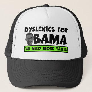 Anti Obama dyslexia Trucker Hat