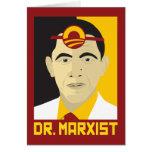 Anti-Obama: El doctor Marxist Tarjeta