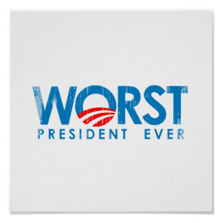 ANTI-OBAMA - El PRESIDENTE PEOR EVER- Faded.png Posters