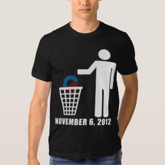 Anti Obama - Election 2012 Tee Shirt