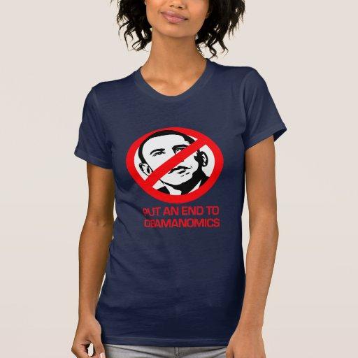 Anti-Obama - End Obamanomics Tshirt