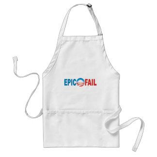 Anti-Obama Epic Fail apron