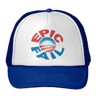 Anti-Obama Epic Fail cap Trucker Hat
