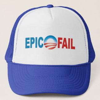 Anti-Obama Epic Fail caps