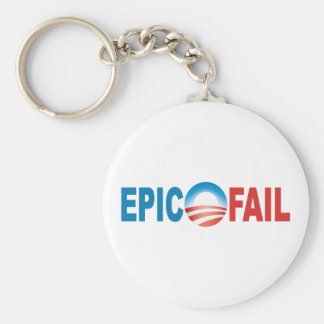 Anti-Obama Epic Fail keychain