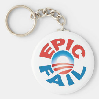 Anti-Obama Epic Fail keychain