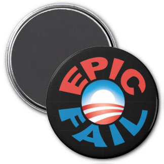 Anti-Obama Epic Fail magnet