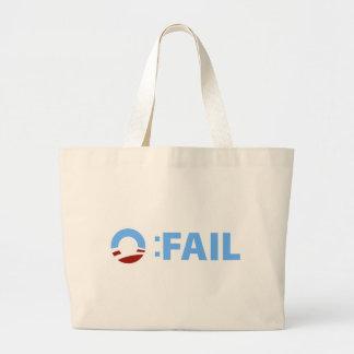 Anti-Obama Fall de Barack Obama Bolsas De Mano