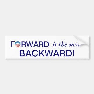 Anti-Obama-Forward is the new Backward! Bumper Sticker