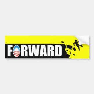 Anti Obama - Forward - off a cliff Bumper Sticker
