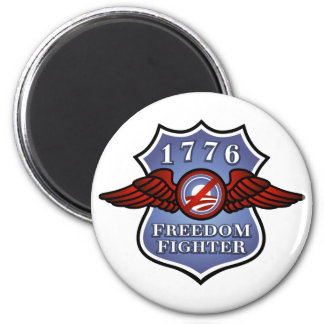 Anti-Obama Freedom Fighter 2 Inch Round Magnet