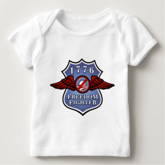 Anti-Obama Freedom Fighter Baby T-Shirt