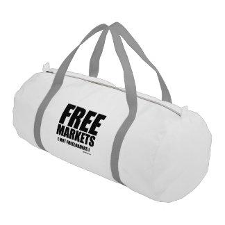 Anti-Obama - Freeloaders de los mercados libres no Bolsa De Deporte