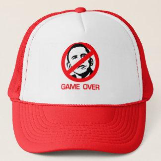Anti-Obama - Game Over Trucker Hat