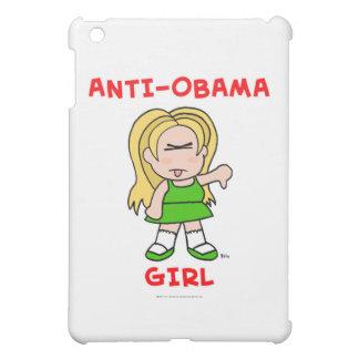 anti-obama girl png iPad mini case