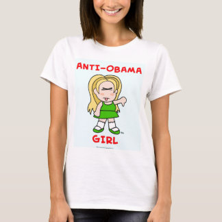 Anti-Obama Girl T-Shirt