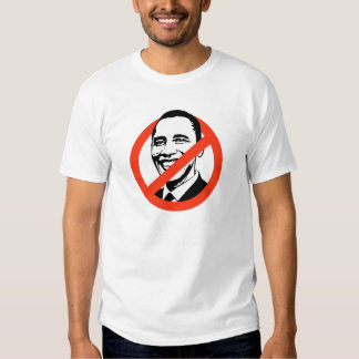 Anti-Obama - he's not my healthcare provider Shirts