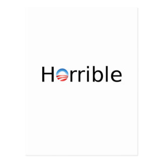 Anti-Obama horrible Postal