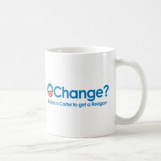 Anti-Obama - It takes a Carter to get a Reagan Coffee Mug