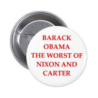 anti-obama joke 2 inch round button