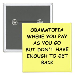 anti-obama joke 2 inch square button