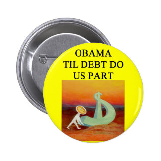 anti obama joke pinback button