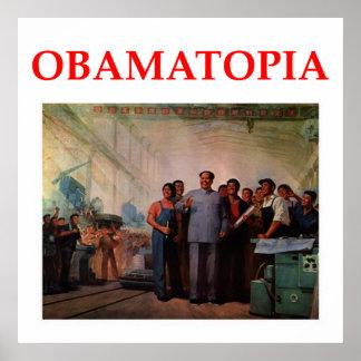 anti obama joke poster