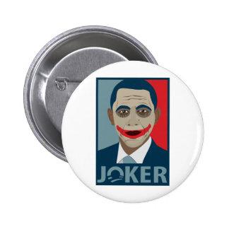 Anti-Obama Joker Pins