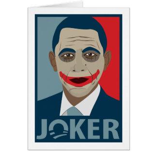Anti-Obama Joker Card