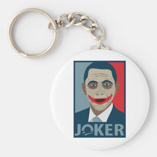 Anti-Obama Joker Keychain