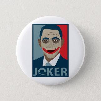 Anti-Obama Joker Pinback Button